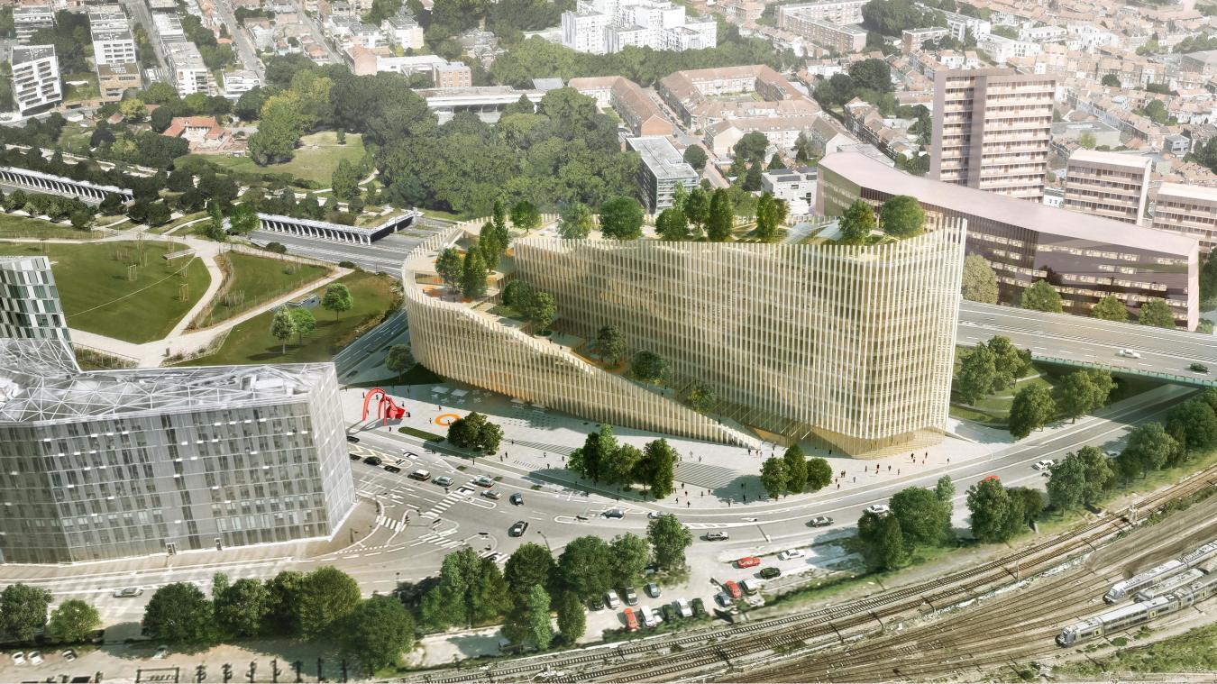 Banque Un Nouveau Siege Pour La Future Caisse D Epargne Hauts De