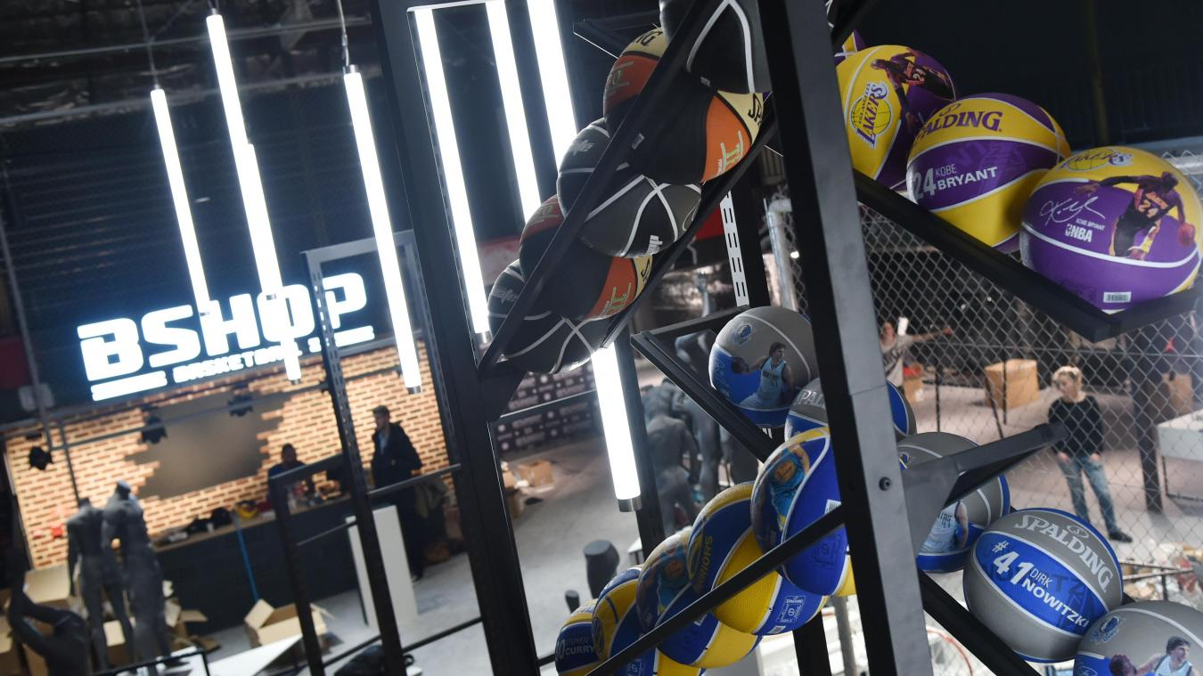 41c76045114 Lille  La plus grande boutique d Europe dédiée au basket ouvre ce samedi