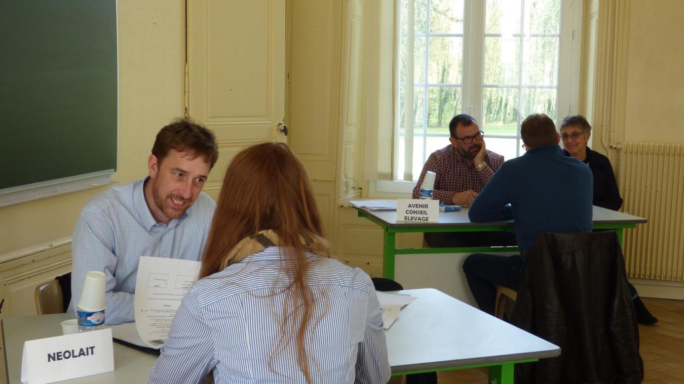 Rollancourt Un Job Dating Chez Les Etudiants Il Faut Recruter