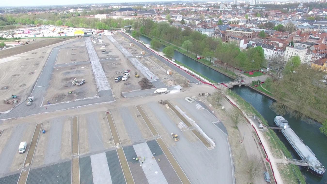 Lille Le Parking Sud De L Esplanade Ouvrira En Juillet Nos Images