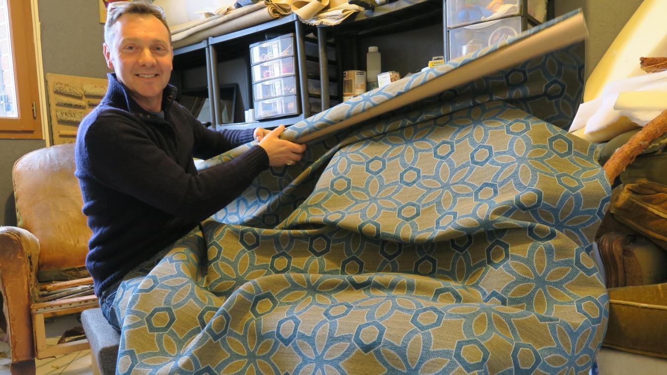 Comment Refaire Un Fauteuil Tapissier verquin redonner vie à de vieux meubles avec un tapissier