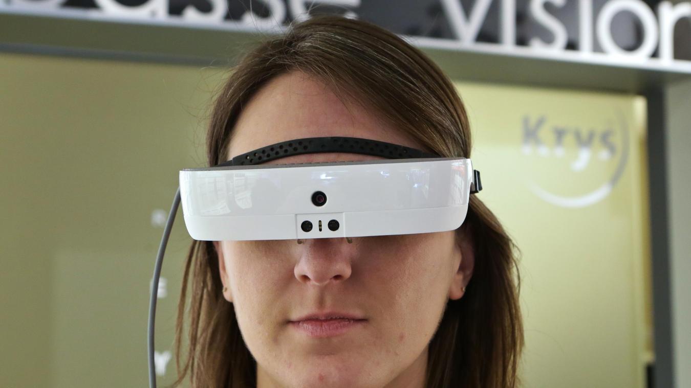 Les lunettes eSight, à réalité augmentée, permettent aux malvoyants de voir  comme les autres 13388e89210b