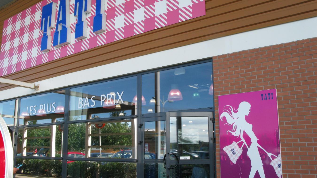 5132cf31d72 Le magasin Tati de la zone de la Garenne à Arques est ouvert depuis 2009.