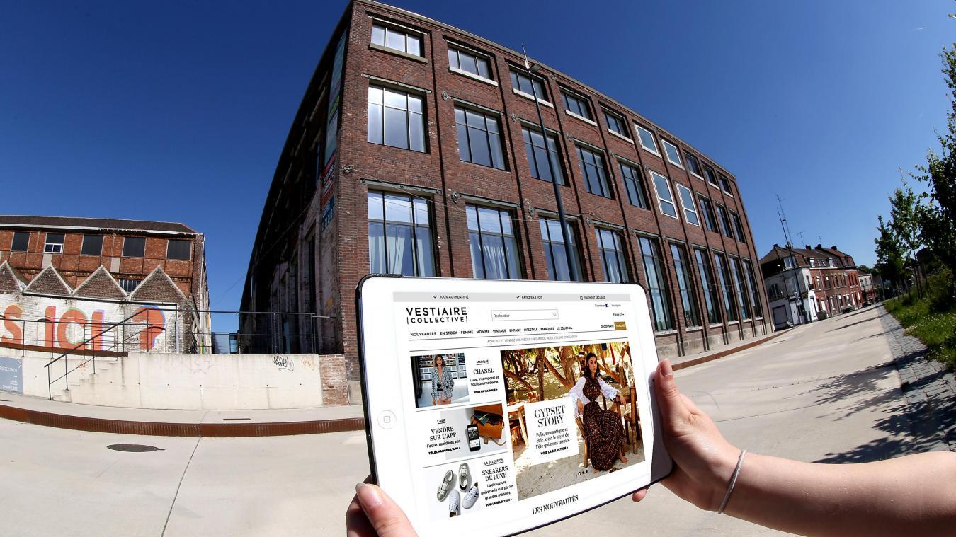 low priced b8af7 ae34d Vestiaire Collective va occuper dans un premier temps les étages cet ancien  bâtiment de la Tossée