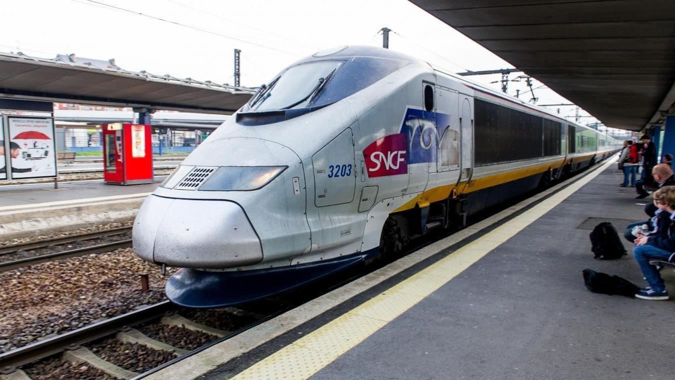 Trem de Lille a Paris