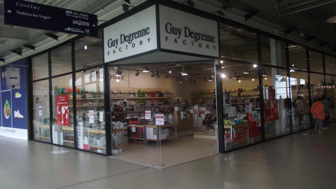 Couvert Enfant Guy Degrenne coquelles channel outlet store : guy degrenne fermera fin août
