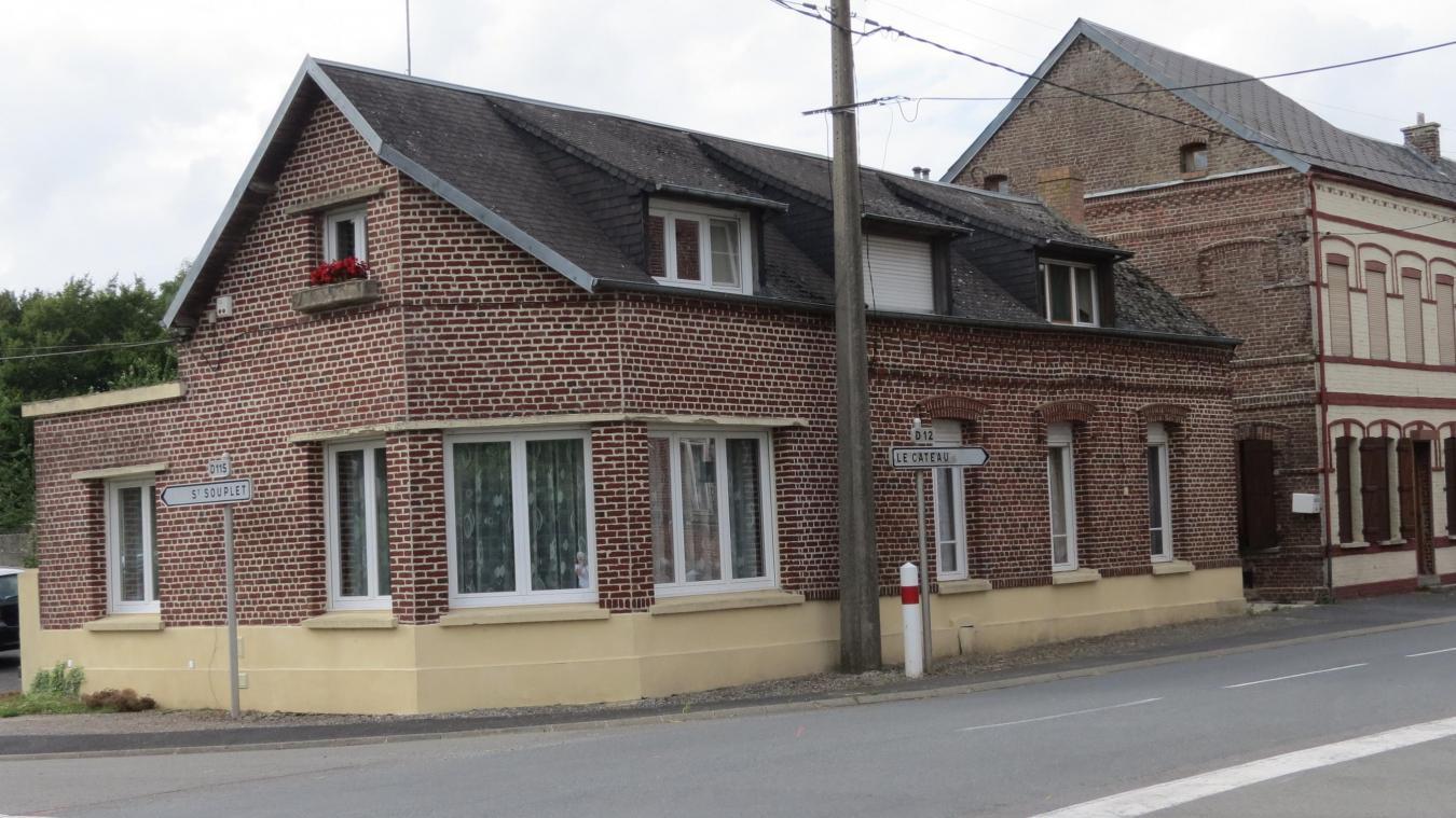 Mazinghien - Une maison témoin d\'un drame en 1944