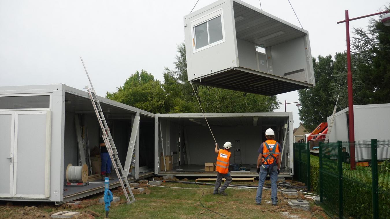 Maison en algeco viens chez moi juhabite un container for Construire sa maison avec des containers