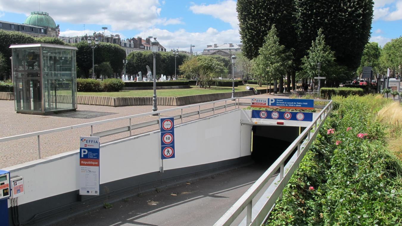 Lille Le Parking De Republique Se Refait Une Beaute