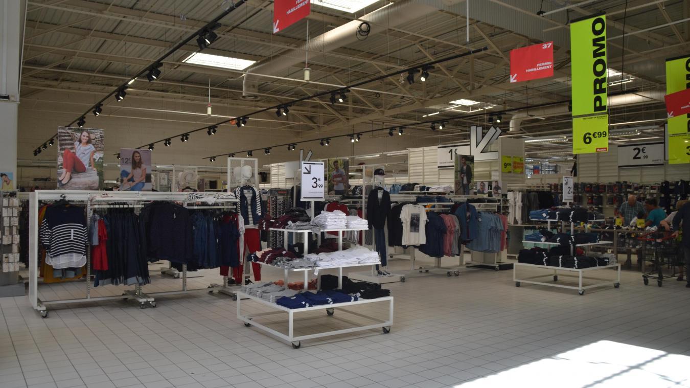 Longuenesse Auchan Modernise Son Secteur Textile Et Table Sur Les