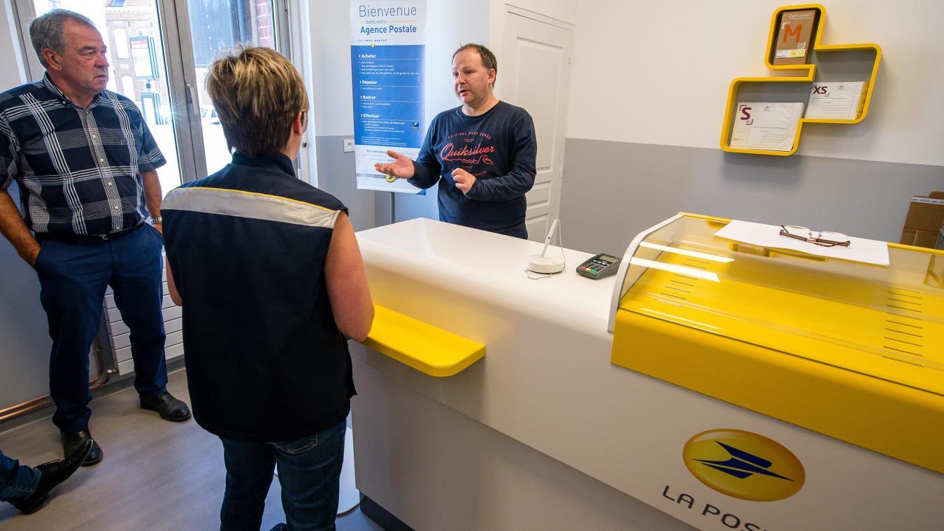 Services les agences postales communales gagnent du terrain