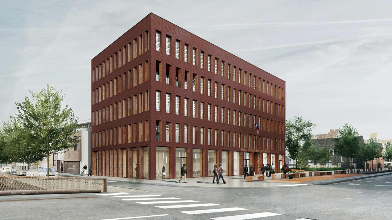 Lille: les bois blancs vont gagner une nouvelle mairie et un square
