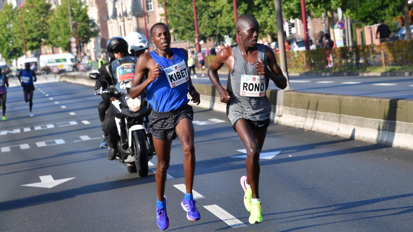 0bffbb598cc Braderie de Lille  Le Kenyan Vincent Rono gagne le semi-marathon