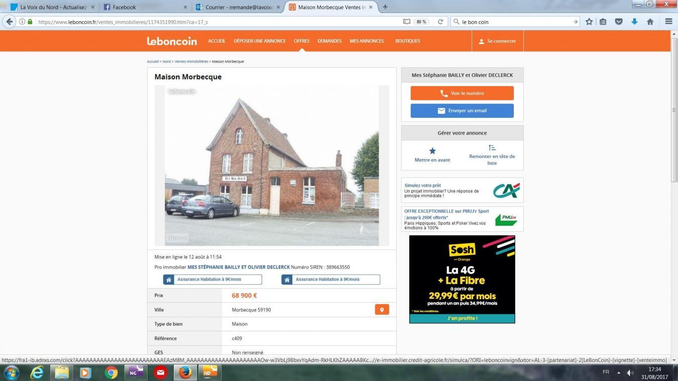 Le Bon Coin 68 5670 Annonces De Vente Immobilier Haut