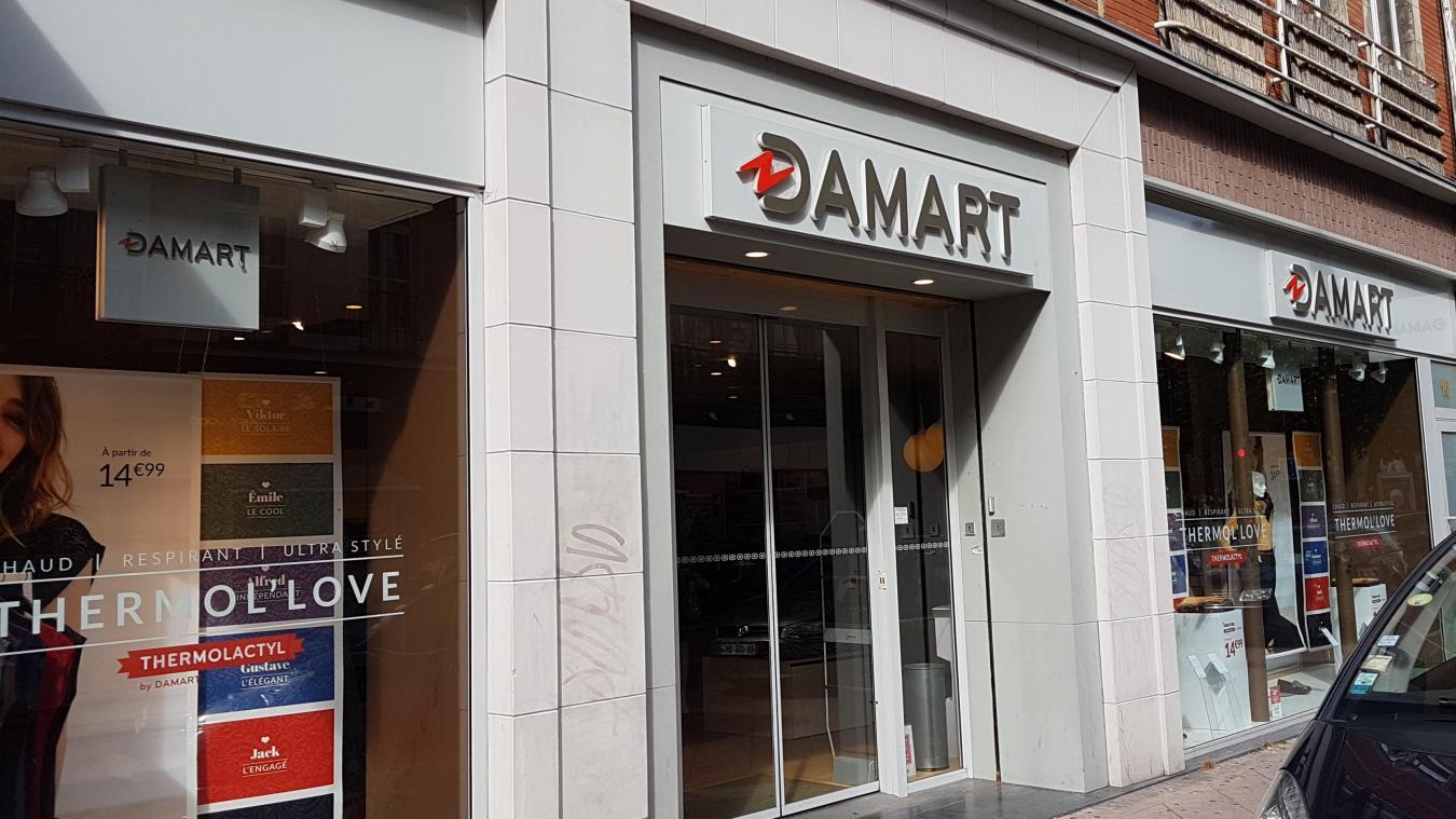 competitive price los angeles good texture Lille Damart va déménager de la rue Gambetta à la rue Faidherbe