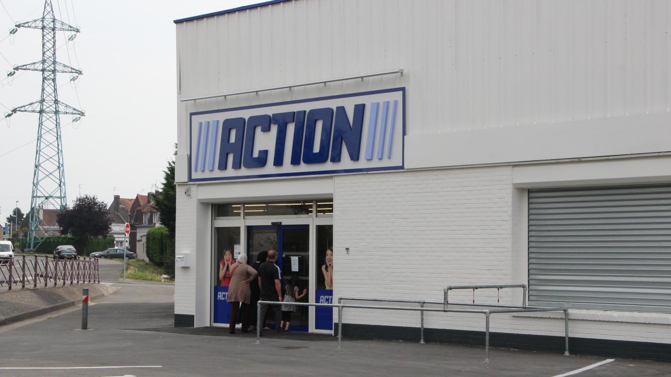denain - un magasin action près de la poste - la voix du nord