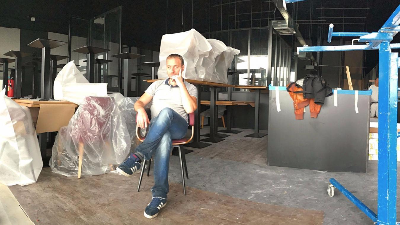 Rémy Grzegorczyk ouvrira mercredi son deuxième restaurant, la Brasserie des  Flandres. 9c0e443255c8