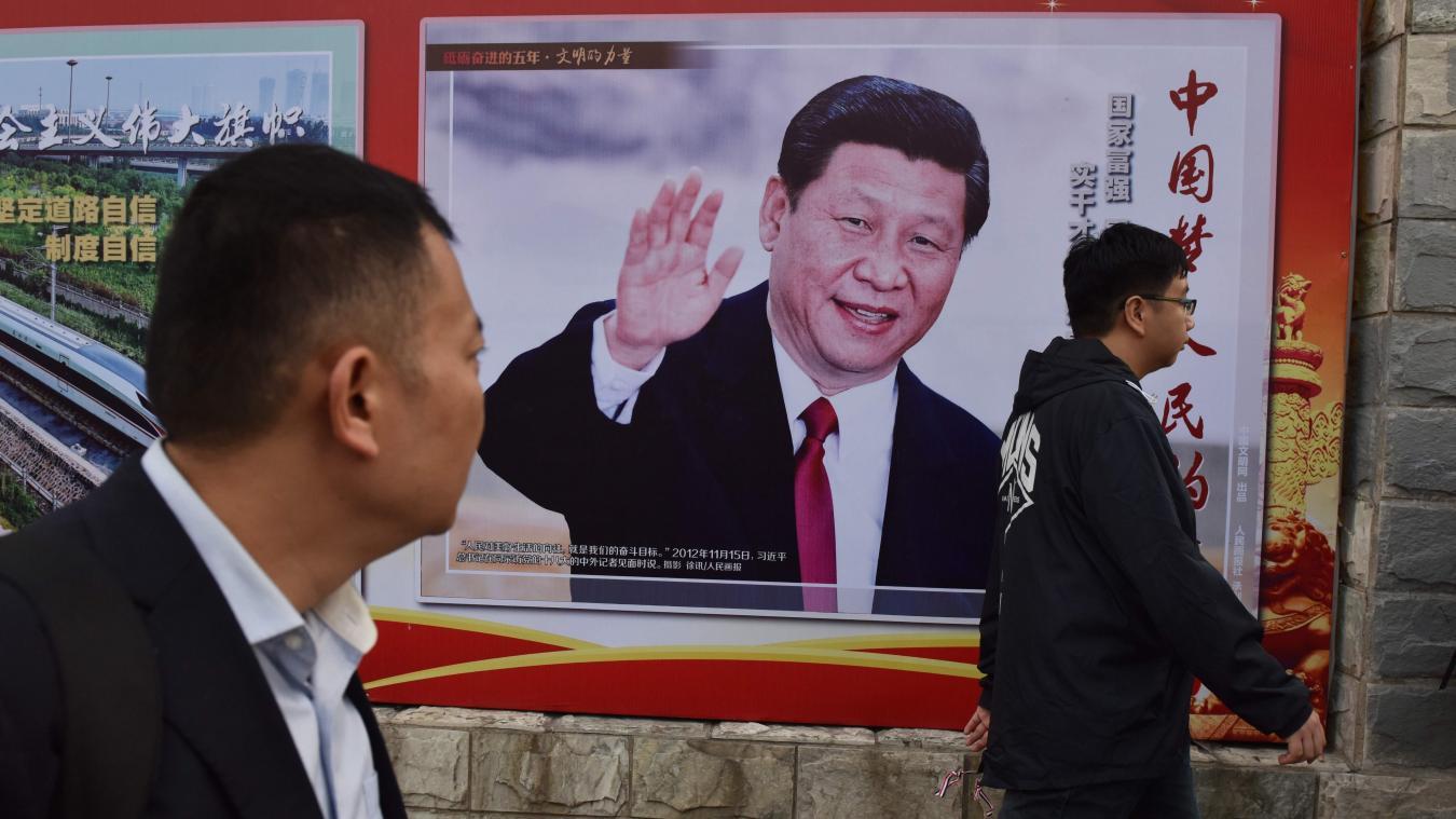 Chine Xi Jinping L Homme Le Plus Puissant D Asie En Marche Vers
