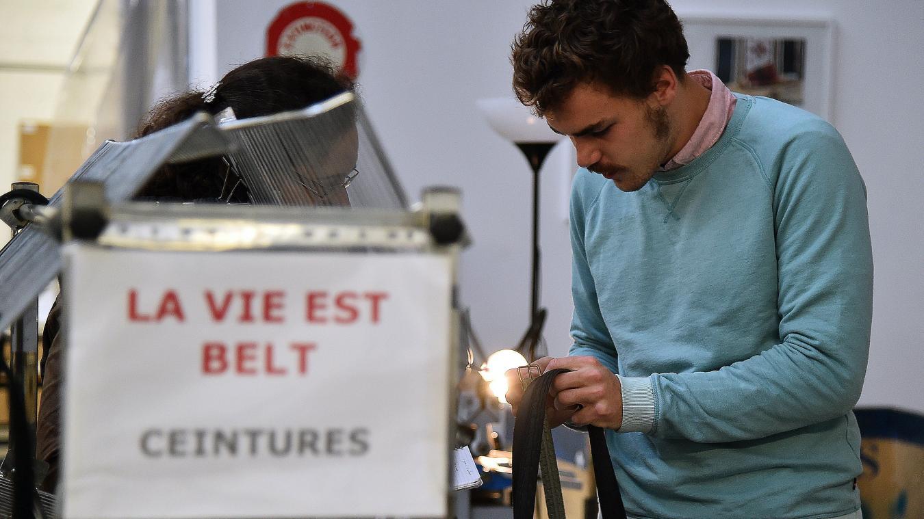 0d9b43390dbf Pour l heure, 80 pièces sont produites par semaine. PHOTO FRANCOIS FLOURENS  - PHOTOPQR VOIX DU NORD MAXPPP