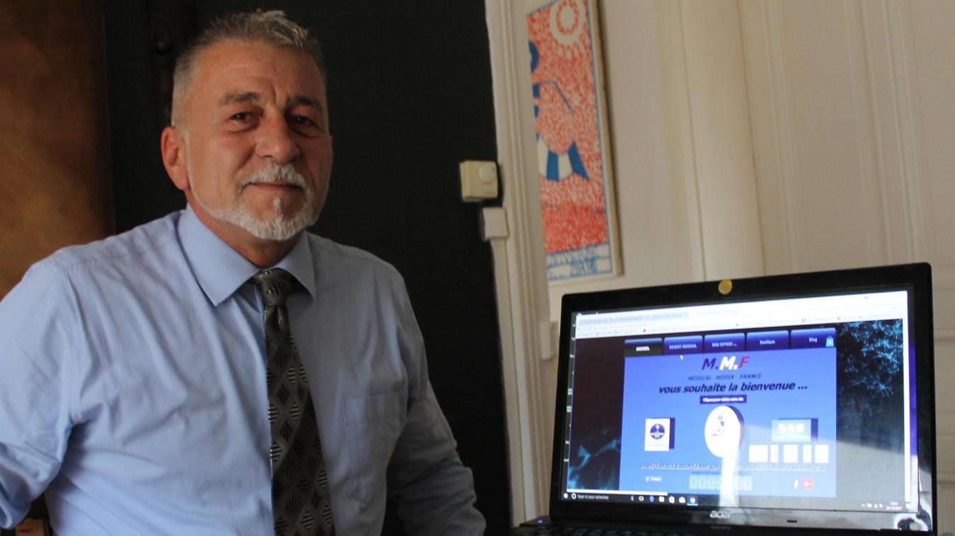 Le Lensois Hervé Penin a crée une plateforme Internet qui permet aux médecins de se faire remplacer. Ponctuellement ou sur le long terme.