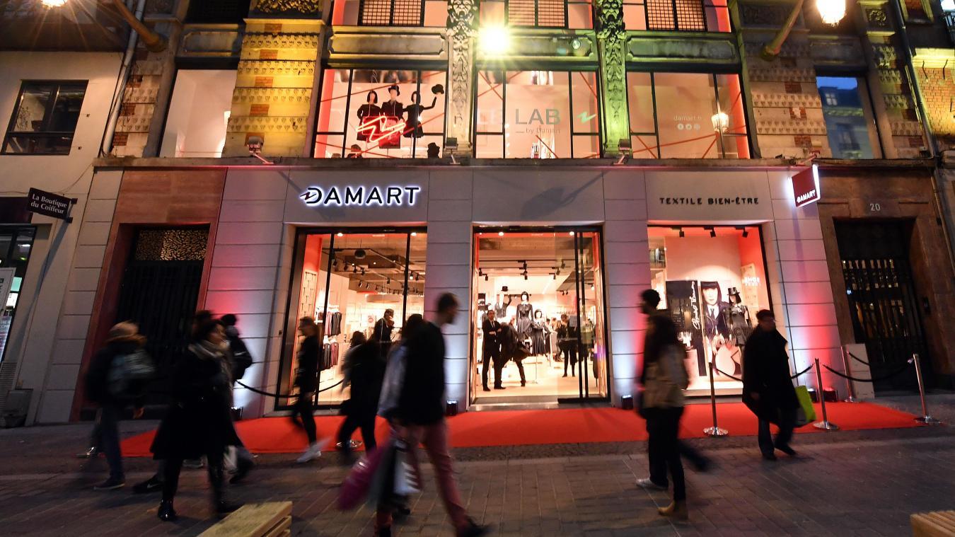 detailed images half price biggest discount Lille Un concept store Damart ouvre ce mercredi rue Faidherbe