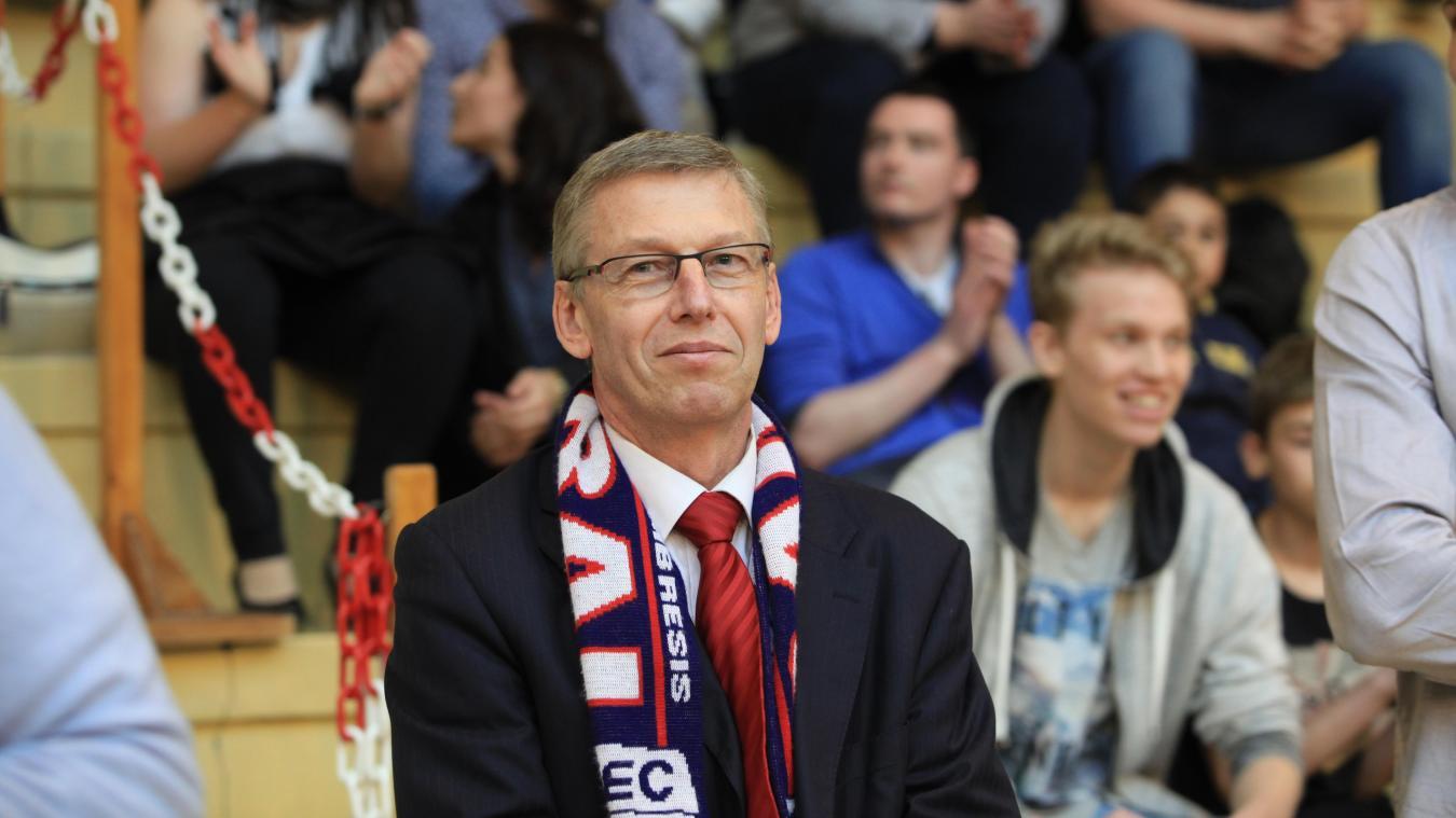 Si Cambrai se prend à rêver d'une finale des play-off, le président Machut reste pour sa part mesuré. PHOTO VINCENT BERTIN (CLP)