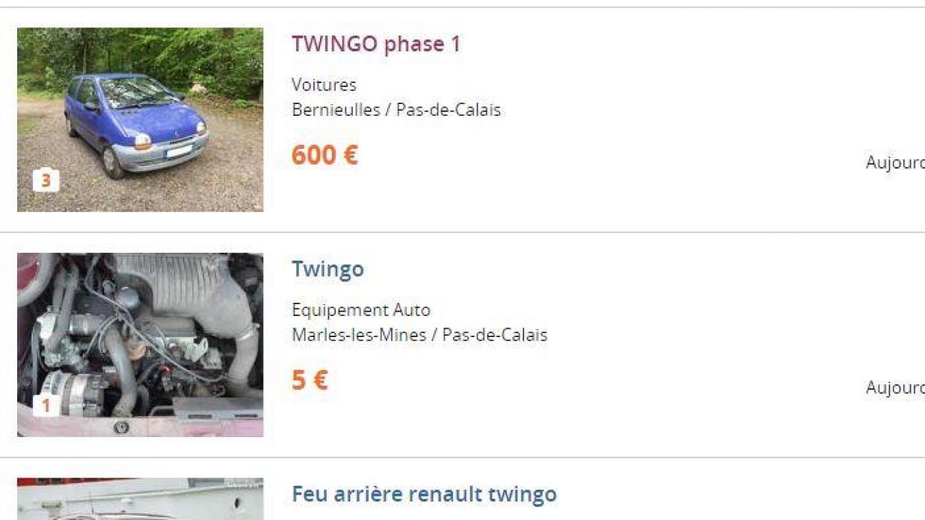 Lille Et Tourcoing La Twingo Quasi Neuve était Vendue Sur Le
