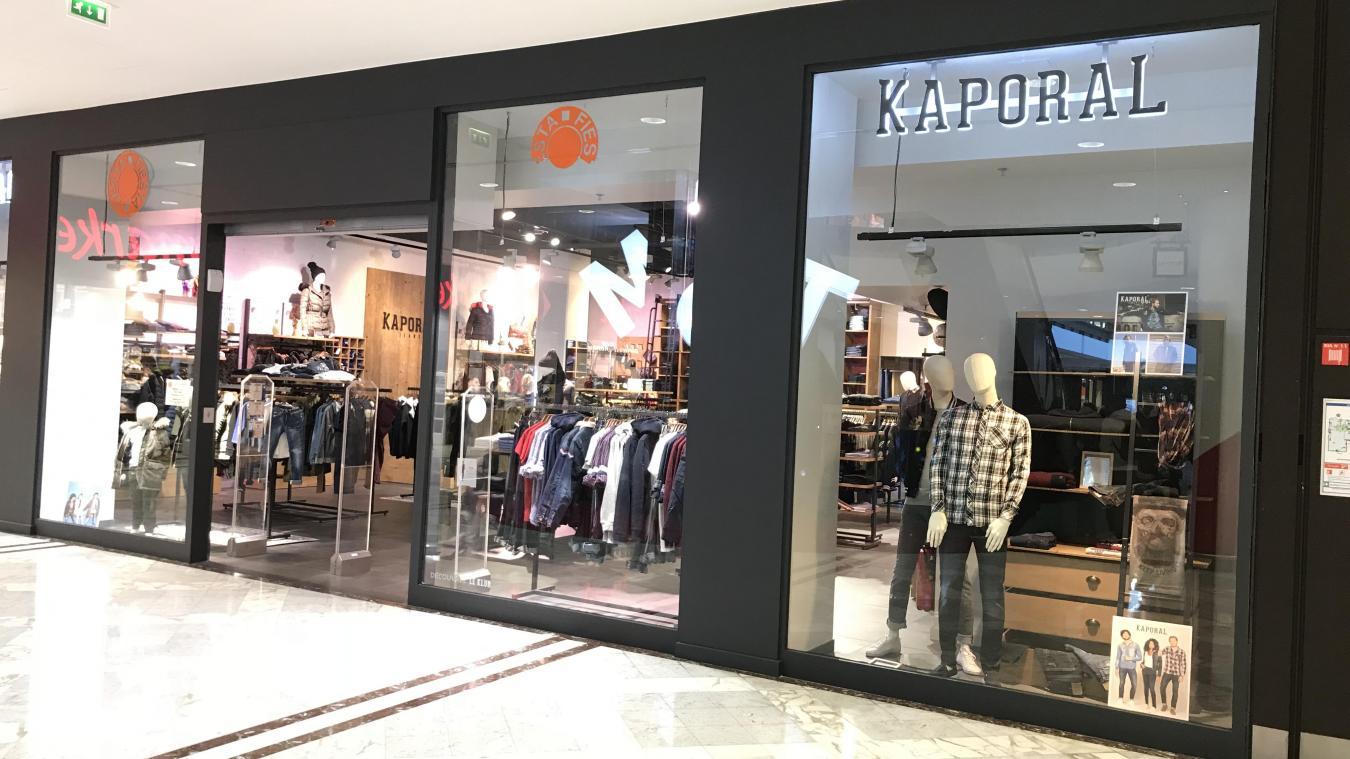 Fiesta est devenue Kaporal, le marque prédominait déjà au magasin. PHOTO «  LA VOIX e845fdee3c7