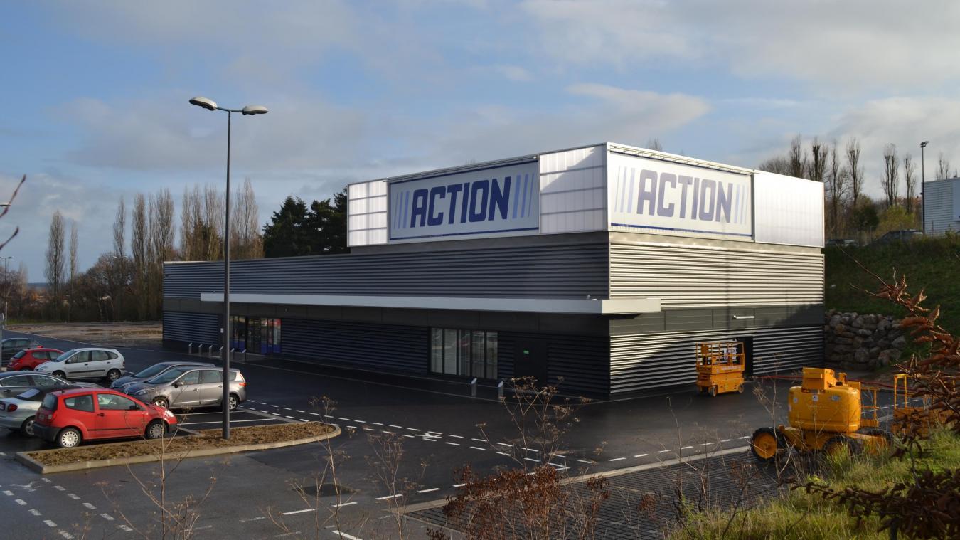 action ouvrira ses portes le 7 décembre dans la zone de la garenne