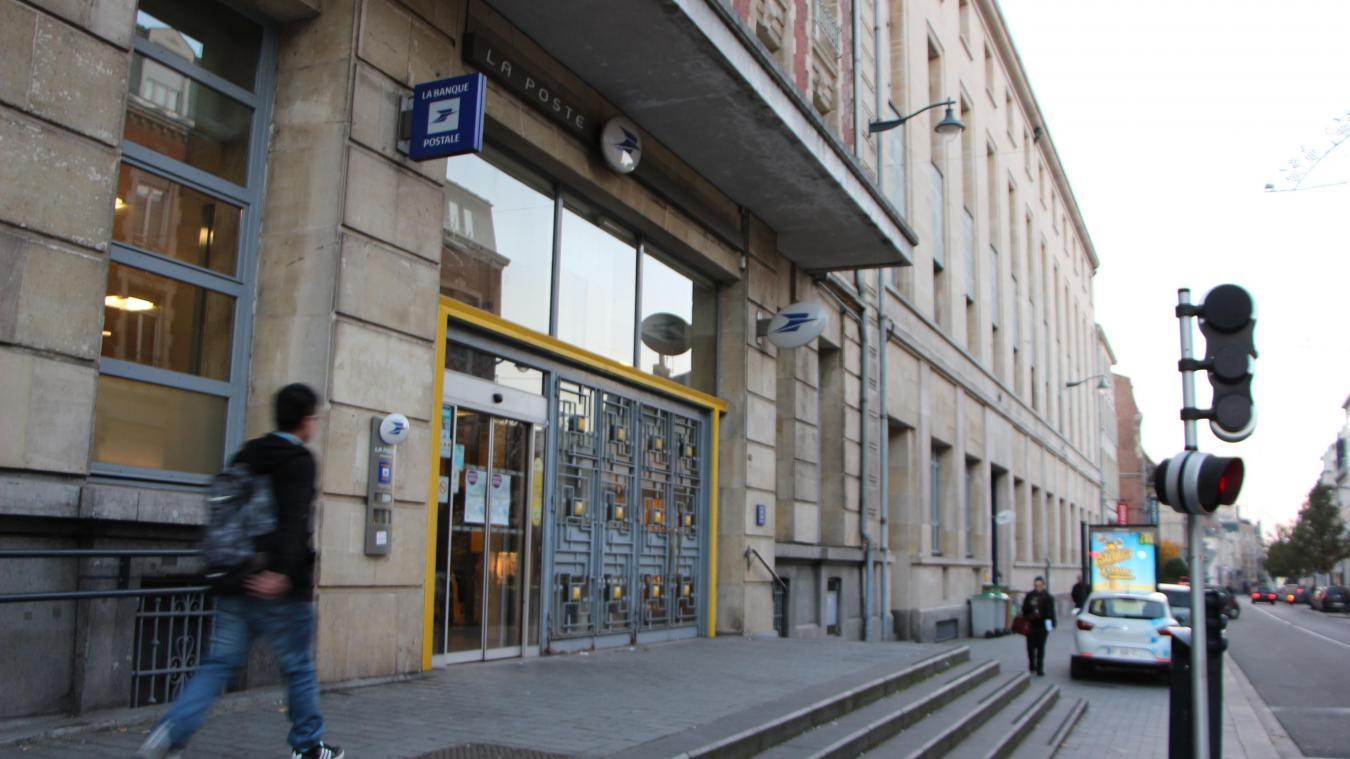 Arras: la poste déménage ses services en décembre avant larrivée