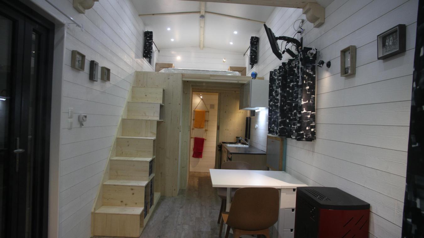 Logement Decouvrez La Mini Maison Mobile Made In Montreuillois