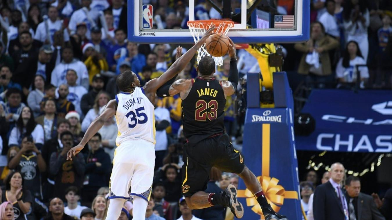 NBA: Golden State domine Cleveland, Houston perd encore à