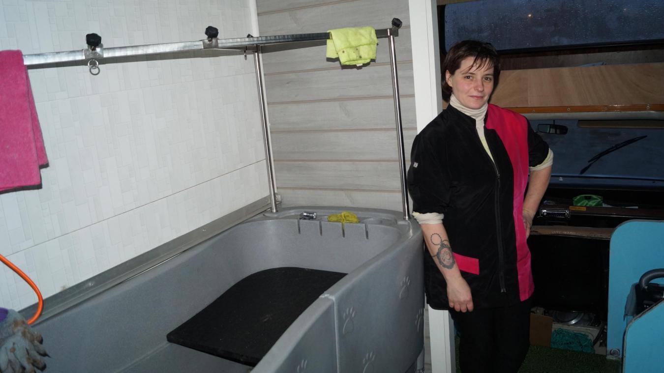 Wismes : Le salon de toilettage à domicile de Stéphanie, c'est son Tacco