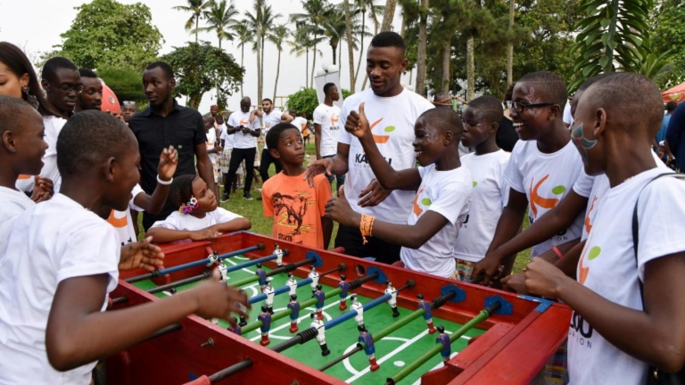 Football L'ancien Lillois Salomon Kalou mouille le maillot