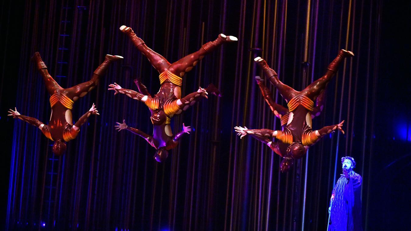 La faillite... avant la vente aux enchères — Cirque du Soleil