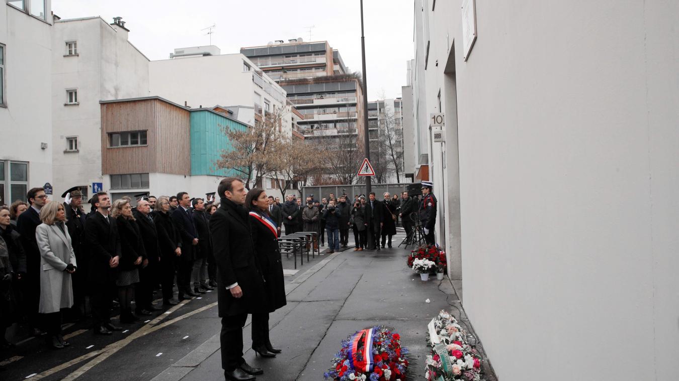 Hommage sobre aux victimes de Charlie Hebdo et de l Hyper Cacher, trois ans  après 2ea8baacd39
