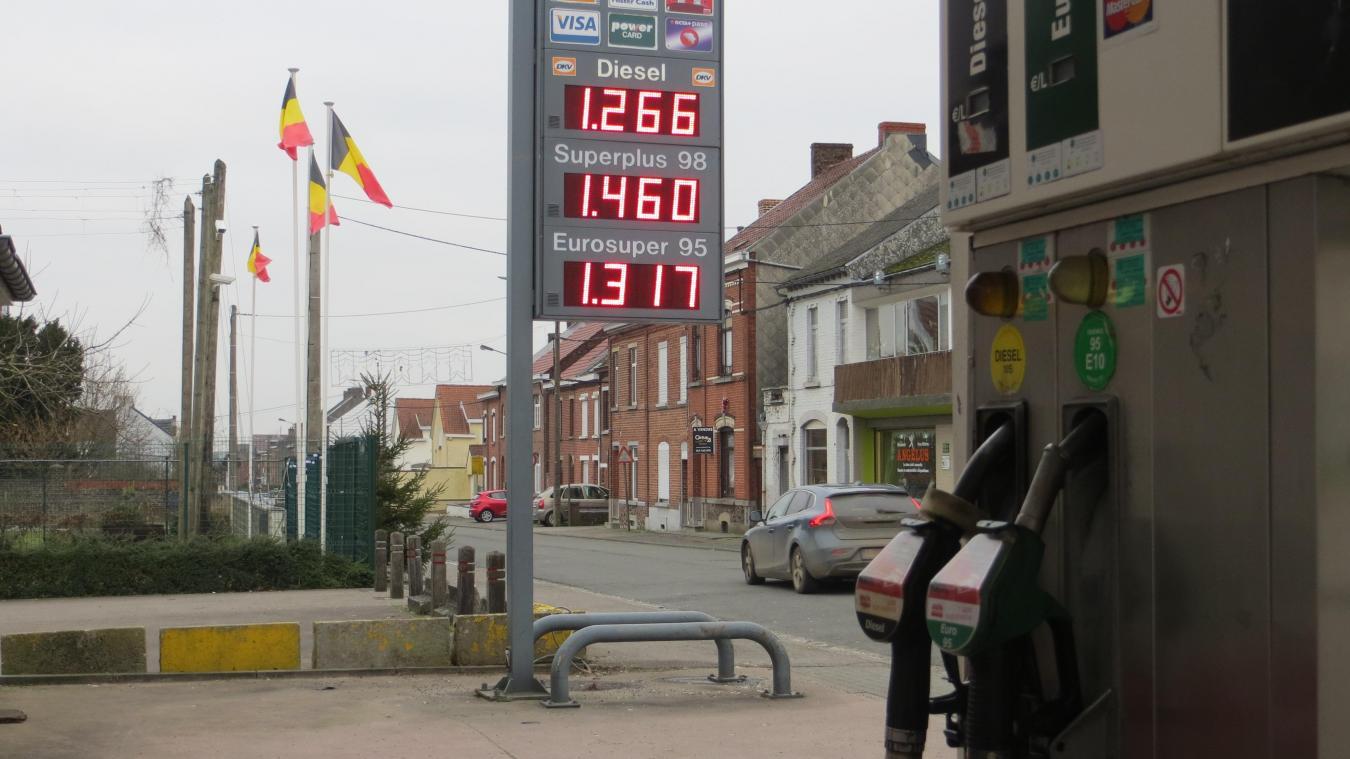 Sambre-Avesnois  De l autre côté de la frontière, le carburant est ... 28baa0b5e41b
