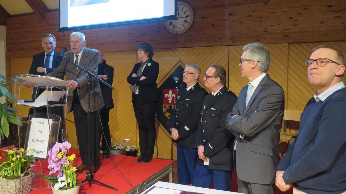 Les maires du secteur ont parlé d'une même voix pour défendre la brigade de gendarmerie de Quesnoy-sur-Deûle.