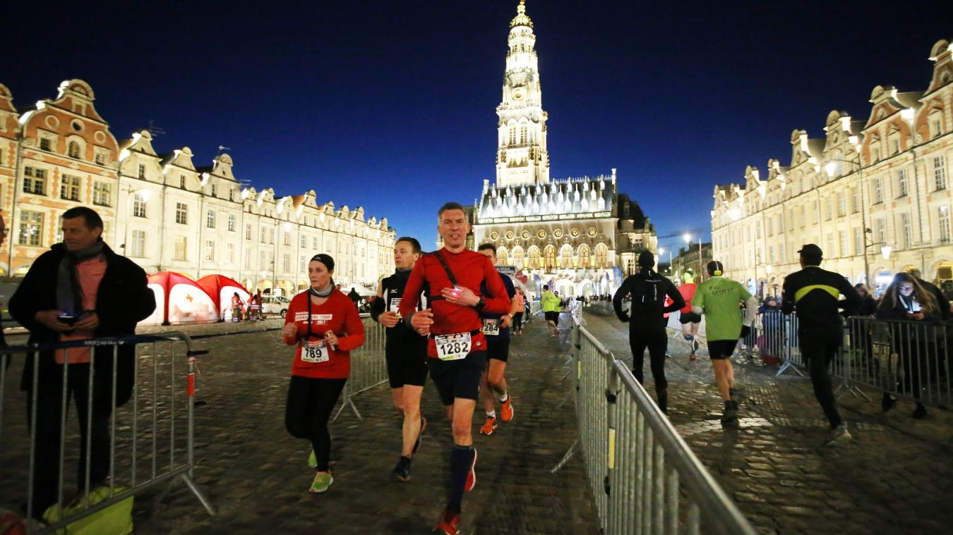 L'Urban Trail d'Arras revient en mars<br /><br /><br /> ! PHOTO PIB