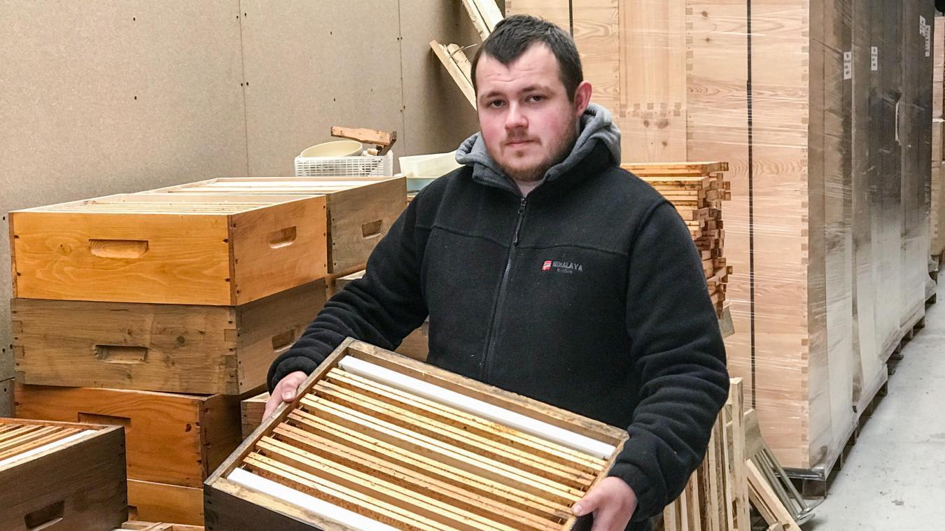 C'est ce type de ruchette que devra racheter Fabien pour reconstituer ses essaims d'abeilles décimés.