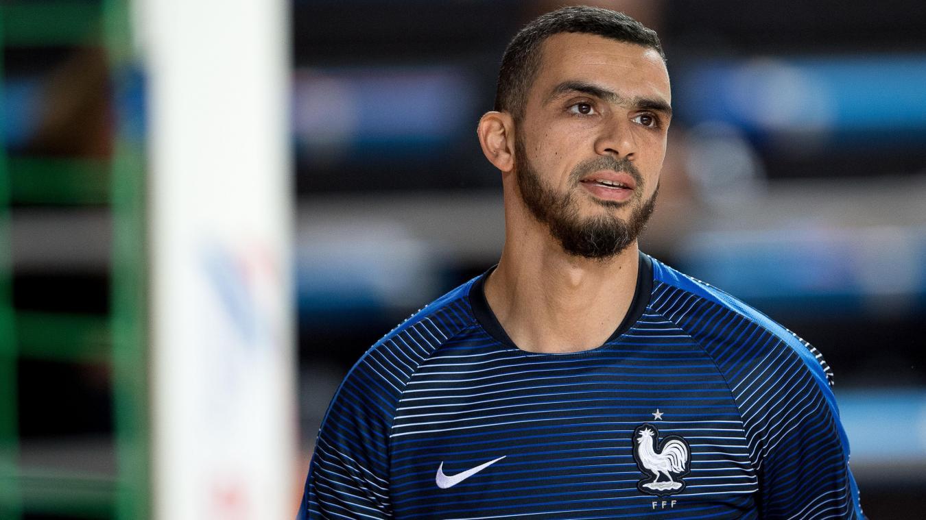 Djamel Haroun, recordman de sélection chez les Bleus, rêve de participer pour la première fois de sa carrière à la Coupe du monde. PHOTO PASCAL BONNIERE