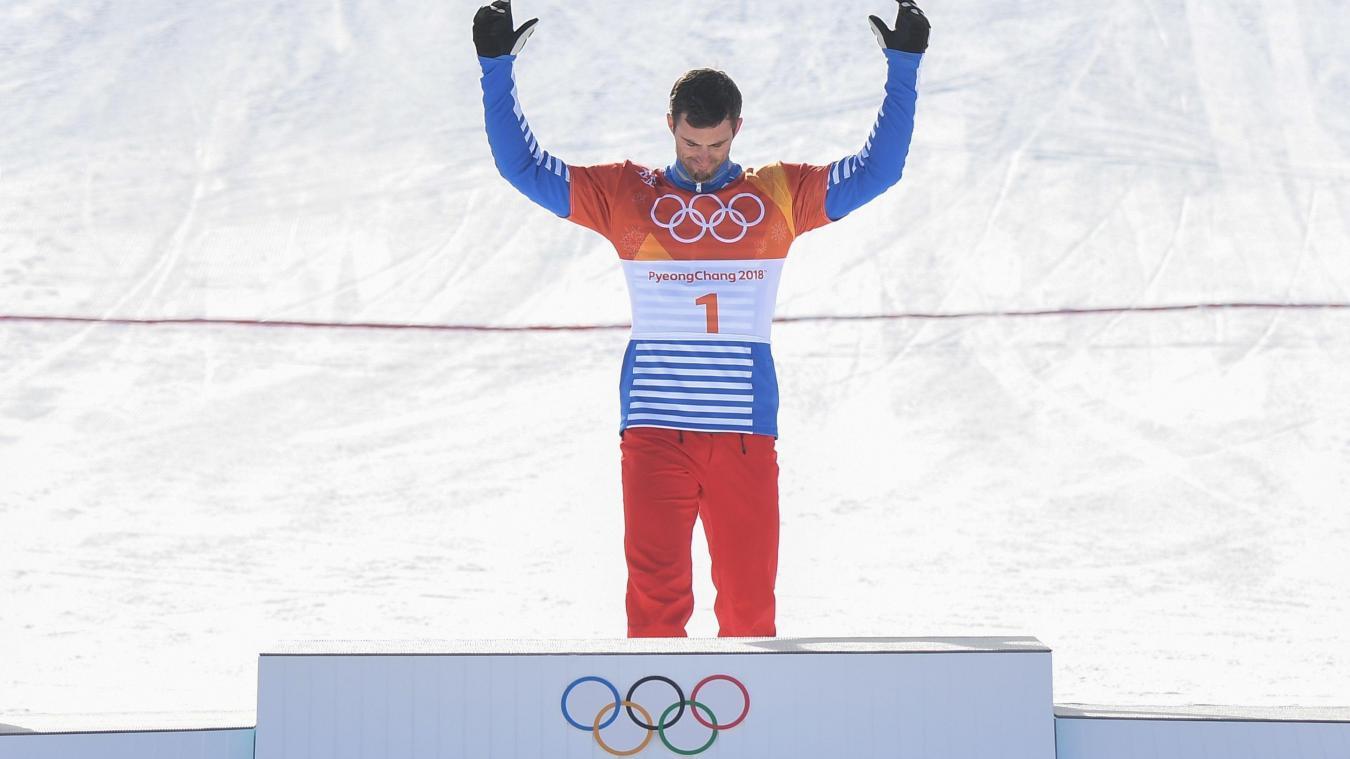 JO-2018 : Pierre Vaultier remporte la médaille d'or en snowboardcross