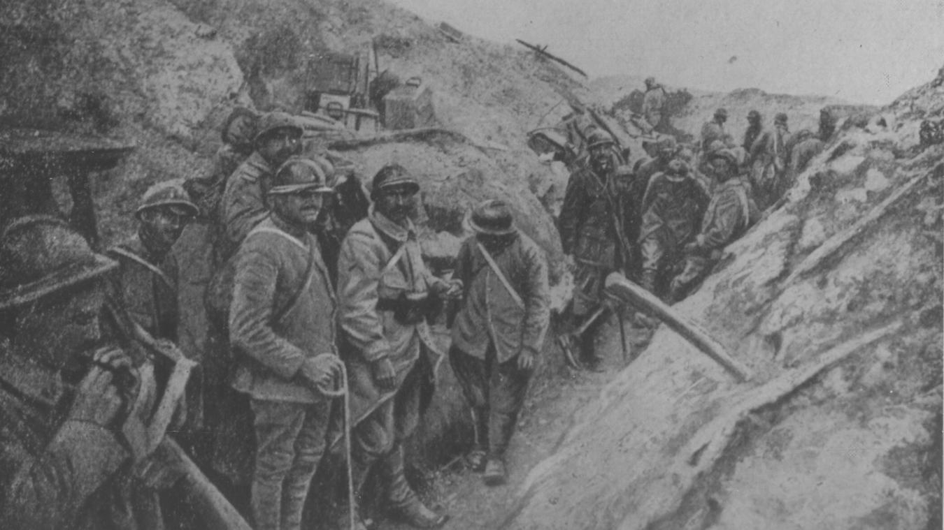 Verdun : inhumation du sergent Fournier à la Nécropole de Douaumont