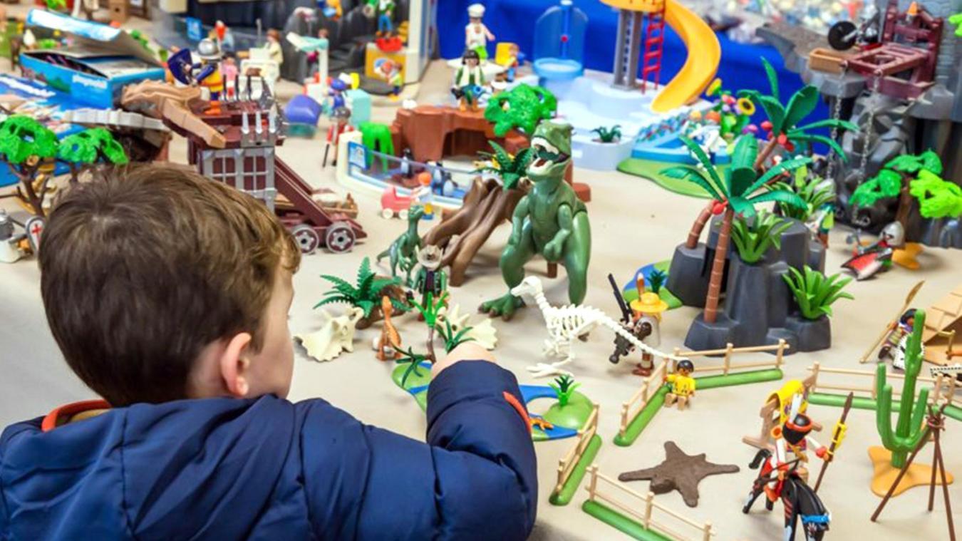 Bien-aimée Vieux-Condé: Playmobil sort le grand jeu, tout ce week-end au @VE_99