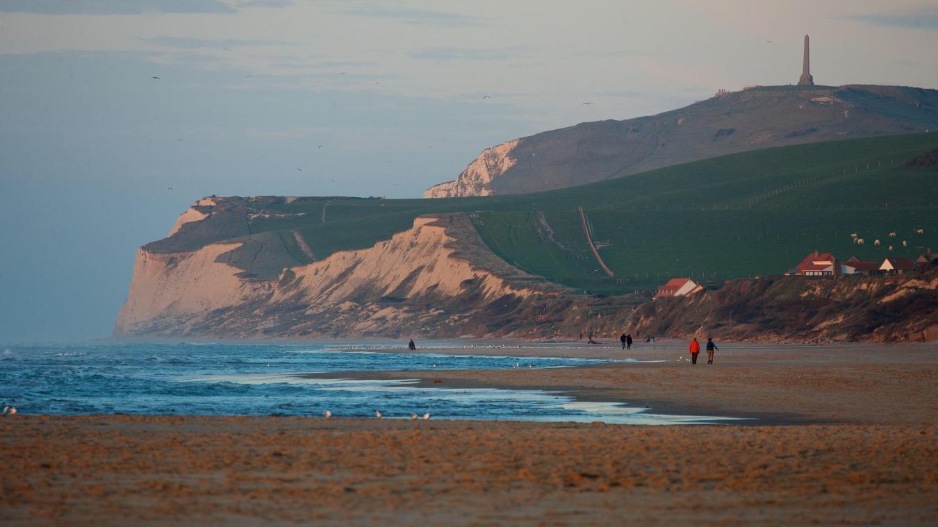 La plage de Wissant fait son entrée dans le classement de TripAdvisor. PHOTO JOHAN BEN AZZOUZ