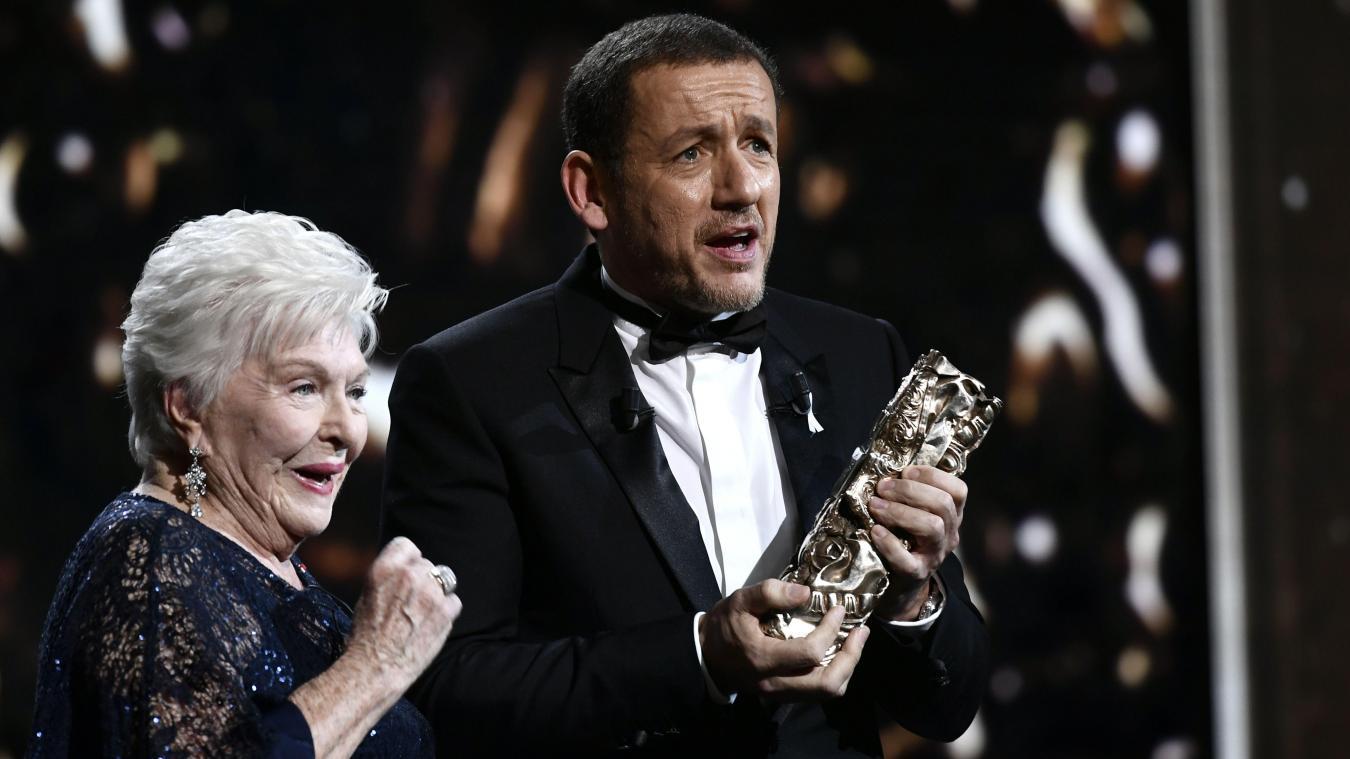 Dany Boon consacré aux César grâce au public