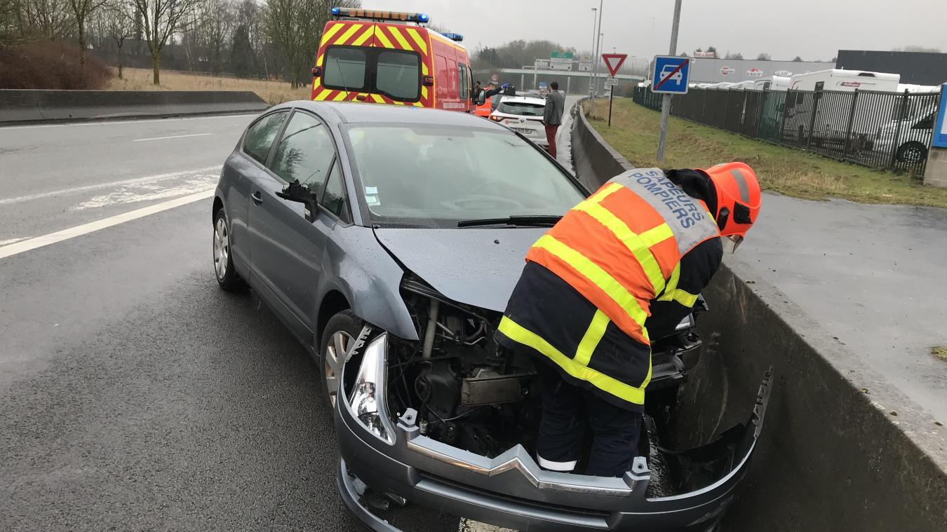 1f3c5d5ee815 Saint-Nicolas  Une jeune femme hospitalisée après un accident à l ...