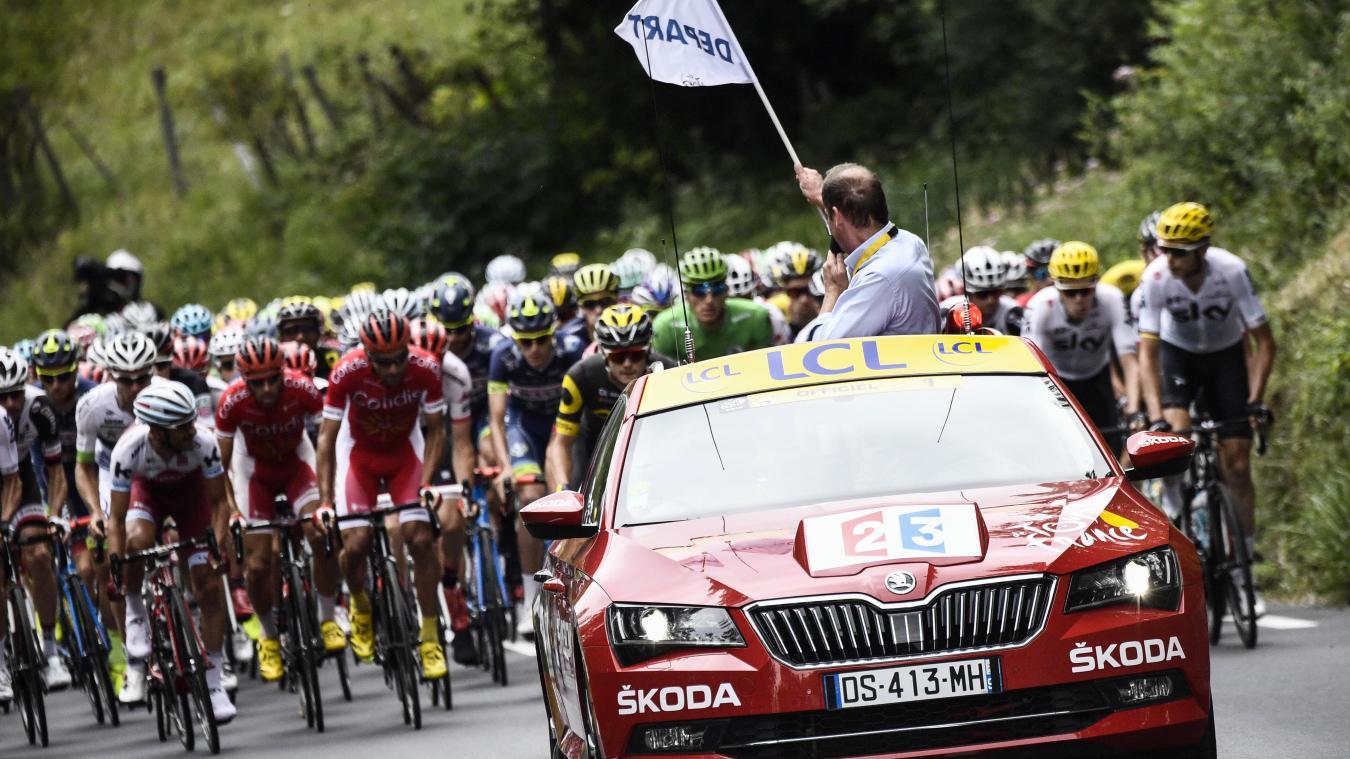 Cyclisme : le Tour de France 2020 partira de Nice