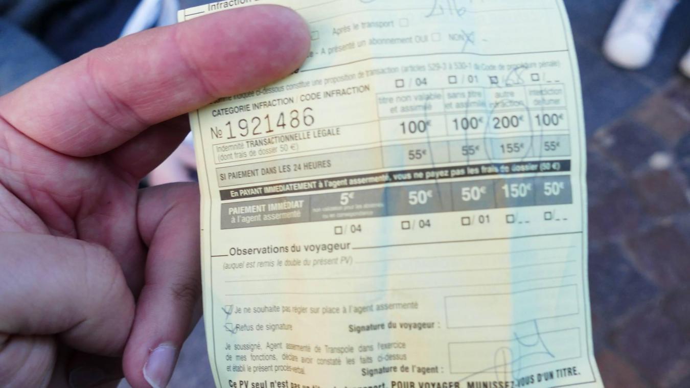 200 euros d'amende pour avoir mendié dans le métro — Lille