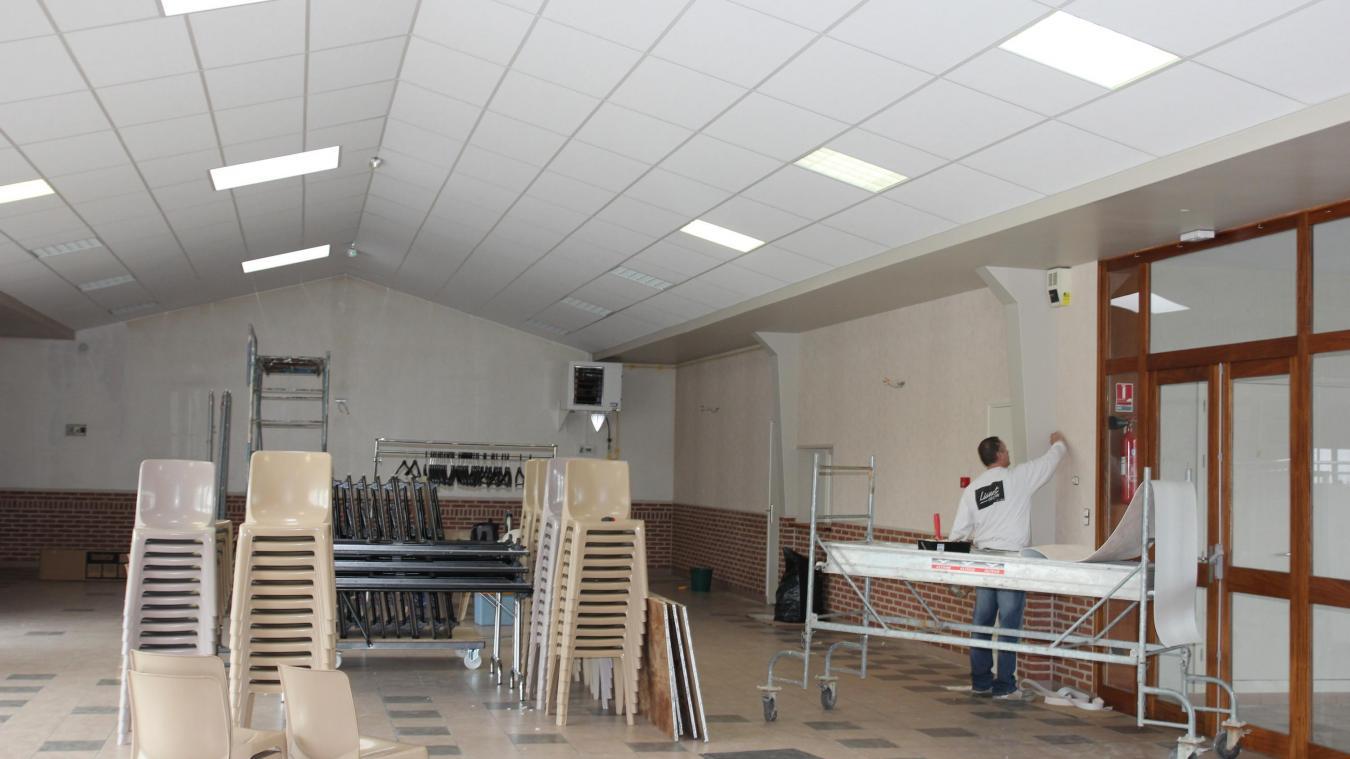 Papier Peint Lionet Hazebrouck haverskerque les écoliers vont découvrir leur cantine